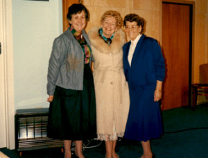 Ivy Notman, Eve Higgins & Mona Stillman