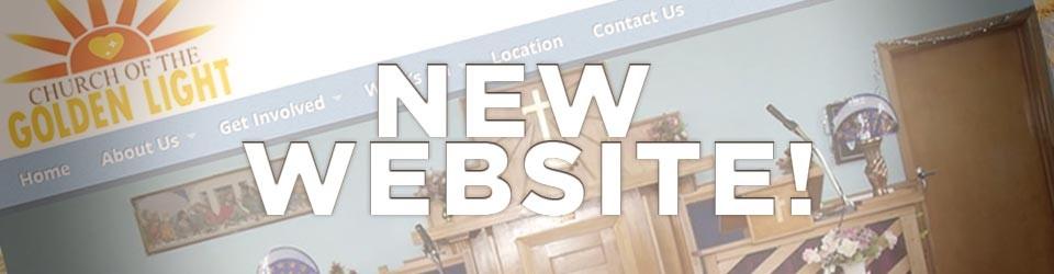 Golden Light Church's New Website