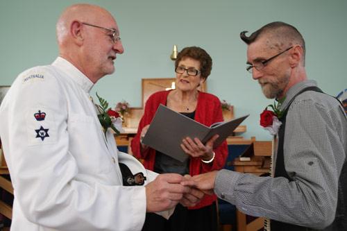 John and Paul's Wedding was held at Golden Light Church
