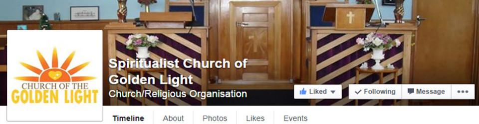 Golden Light Church Facebook page