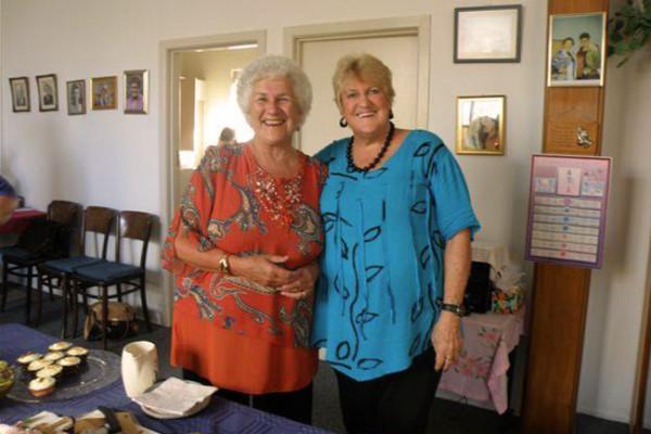 Church's 85th Anniversary Jan and Lynette