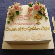 Church's 85th Anniversary Cake