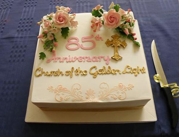 85th Anniversary Cake
