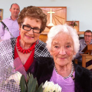 Glenys Lindsay, Minister, and Shirley Parsons-