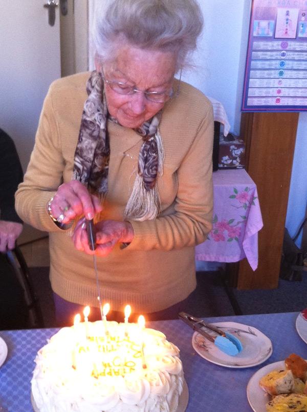 Maisie's 90th Birthday Cake